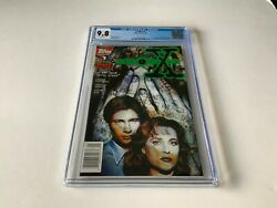 X-files 1 Cgc 9.8 White 1st Comic Appearance Mulder Scully Topps Comics 1995 Mm