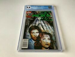 X-files 1 Cgc 9.8 White Pages Tv Fox Mulder Dana Scully Topps Comics 1995 X3