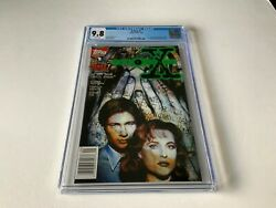 X-files 1 Cgc 9.8 White 1st Comic Appearance Mulder Scully Topps Comics 1995 Gg