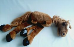 Rare 2000 Sunny Toys Co 38 Large Brown Horse Marionette No Sticks Or Strings