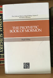 The Prophetic Book Of Mormon By Hugh Nibley Volume 8 1989 1sted Lds Hb