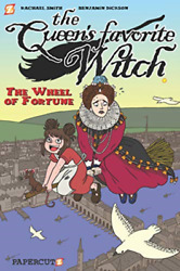 Papercutz-`the Queen`s Favorite Witch 1 ``the Wheel Of For Us Import Book Neu