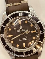 Rolex Submariner ref 5513 Vintage from the 60's 987