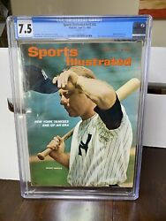 Sports Illustrated Cgc 7.5 Newsstand June 21 1965 Mickey Mantle
