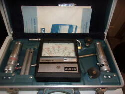 Alnor Velometer In Case P/n 6000-p Case Is In Very Good Condition