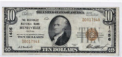 10 1929 T1 National Rushville Indiana In Very Nice Problem Free Rarely Seen