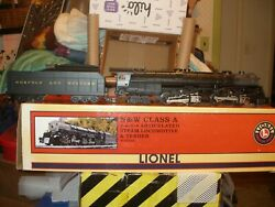 Lionel 28052 Nandw 1218 A Class With Tmcc Steam Locomotive And Tender Boxed