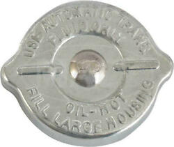 Macs Auto Parts Power Steering Pump Cap - Zinc Plated - Without Dipstick For