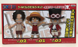 One Piece World Collectible Figure Tokyo Tower Limited Sp Color Luffy Sabo Ace