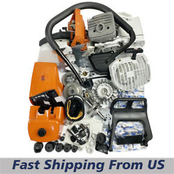 Farmertec Chainsaw Complete Repair Saw Kit For Stihl Ms660 066 Cylinder Piston