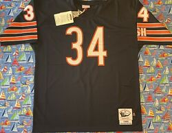 Authentic Mitchell And Ness Nfl Chicago Bears Walter Payton Football Jersey