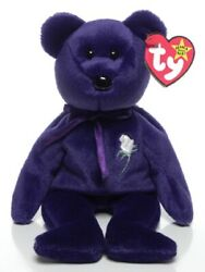 Ty Beanie Baby Princess the Bear 1997...NEW 9quot;