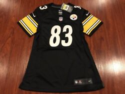 Nike Women's Heath Miller Pittsburgh Steelers Limited Version Jersey Small S Nfl
