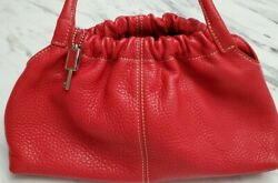 Fossil Red Pebble Purse 75083