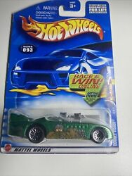Double Vision - 2002 Hot Wheels Masters Of The Universe Series - Green
