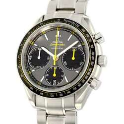 Omega Speedmaster Racing Co-axial Chronograph 40mm Stainless Steel Gray Dial...