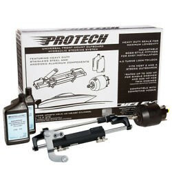Uflex Protech 3.1 Front Mount Ob Hydraulic System - Includes Up28 Fm Helm Oil And
