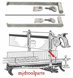 Orig. Stock Guide, Clamp And Plate For Stanley No. 358 Mitre Box - Mjdtoolparts