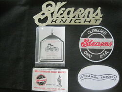 Large Stearns Knight Radiator Emblem Dash Plaques And Patches