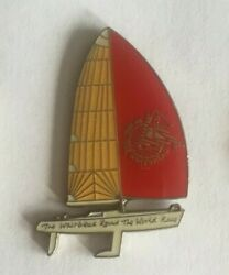 Pin's Bateau Voilier The Whitbread Love The World Race Ocean Lapel Pin Ref 073