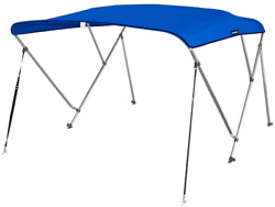 Msc Standard 3 Bow Bimini Boat Top Cover With Rear Support Pole And Storage Boot