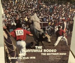 The Eastham Band Behind The Walls Huntsville Texas Rodeo 1978 12in Lp