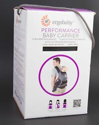 Ergobaby Ergo Baby Performance Baby Carrier Front Back Hip Black/charcoal