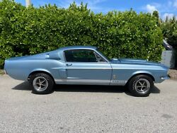 1967 Ford Shelby Gt350 1967 Ford Shelby Coupe Blue Rwd Manual Gt350