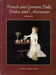 German French Dolls Children's China Porcelain Dishes Furniture / Book + Values