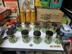 Silver Alaskas Vintage Case Of 10 Jars Of Minnows Shiners In Box The Wonder Bait