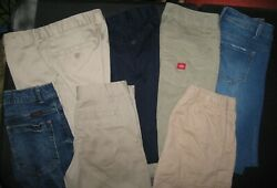 Kids School Clothes Size 10ish Lot Of 10 Dickieand039s Polo Wrangler Eddie Bauer