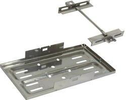 Macs Auto Parts Ford/mercury Stainless Steel Battery Tray Universal Fit