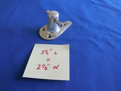 Vintage Aluminum Boat Bow Mooring Bit/cleat 50and039s-60and039s Feathercraft/others Nos