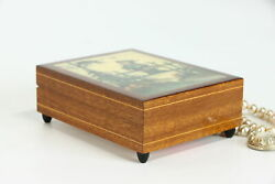 Italian Vintage Music And Jewelry Box, Sound Of Music, Swiss Reuge, Hummel 38946