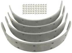 Macs Auto Parts Model A Ford Aa Truck Service Brake Lining Set - Molded - With