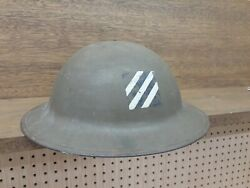 Us Army 3rd Infantry Division Ww1 Doughboy Helmet