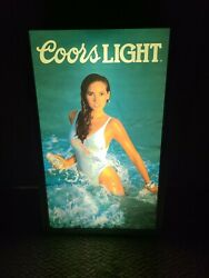 Coors Light- Pub Breweriana Lighted Sign