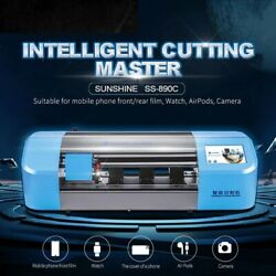 Phone Tablet Sunshine Auto Film Cutting Machine Glass Back Cover Protect Tape