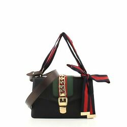 Gucci Sylvie Shoulder Bag Leather Small $1152.00
