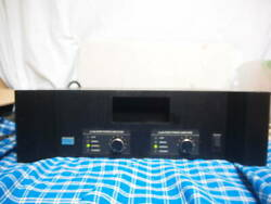 Urei Woolley Model 6300 Stereo Power Amplifier Complete Product