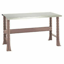 Shureshopand174 Bench Stainless Steel Top 72 X 29 Pewter Grey