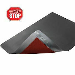 Notrax Ergo Redstop Mat 4and039 X 75and039 Black