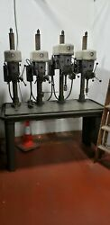 Delta Rockwell Cat No.15-665 1/2capacity 4 Station Drill Press W/steel Table