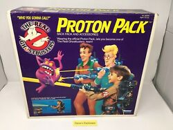 Vintage Kenner The Real Ghostbusters Proton Pack Brand New Upopened Sealed