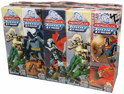 Dc Heroclix Justice League Booster Brick Sealed Unopened Free Shipping