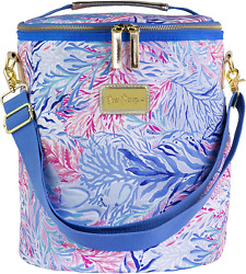 Lilly Pulitzer Insulated Soft Beach Cooler with Adjustable Removable Strap and $39.34