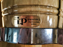 Lp Generation Ii Bongos W/ Softcase And Quick Release Stand