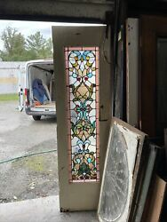 Mark Antique And Jeweled And Stained Glass Door 23.75 X 83 X1.75