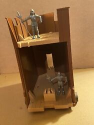 Playmobil Roman Siege Tower Set From Set 4275, To Use With Medieval Toy Soldiers