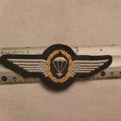 German Paratrooper Badage Cloth--see Store Patches Jump Wings  Ww1 Ww2 Medals